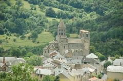Eglise Saint-Nectaire - Français:   Église de Saint-Nectaire
