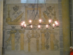Eglise Saint-Nectaire - Français:   Tombeau, Église de Saint-Nectaire, Saint-Nectaire, Puy-de-Dôme, France