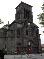Eglise Saint-Priest - Français:   Eglise saint-Priest, volvic