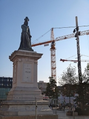 Statue de Desaix avec son socle - Français:   Statue de Desaix avec son socle, Place de Jaude, Clermont-Ferrand