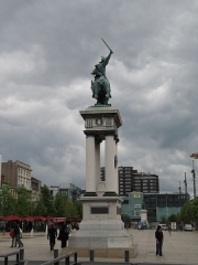 Statue de Vercingétorix - This building is indexed in the Base Mérimée, a database of architectural heritage maintained by the French Ministry of Culture,under the references PA00092550   and classe .