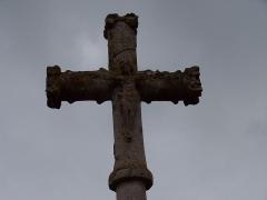 Croix du 16e siècle - Français:   Croix de Bas-en-Basset en Haute-Loire inscrite aux monuments historiques en 1930, sous la référence:  PA00092595 http://www.culture.gouv.fr/public/mistral/merimee_fr?ACTION=CHERCHER&FIELD_1=REF&VALUE_1=PA00092595