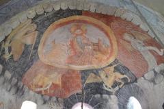 Eglise de Bousselargues -  Cul de four
