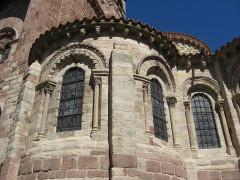 Basilique Saint-Julien - Français:   Brioude, basilique St-Julien, chapelle rayonnante