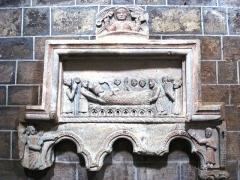 Eglise Saint-Gilles - English:   Chamalières-sur-Loire, bas-relief à l\' église