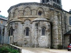Eglise Saint-Gilles - English:   Chamalières -sur-Loire, chevet de l\'église