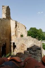 Ancienne abbaye Saint-André-de-Lavaudieu - Français:   Ruines de l\'ancienne abbaye Saint-André de Lavaudieu, Haute-Loire.