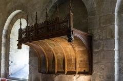 Ancienne abbaye Saint-André-de-Lavaudieu - Français:   dans le réfectoire de l\'abbaye Saint-André de Lavaudieu.