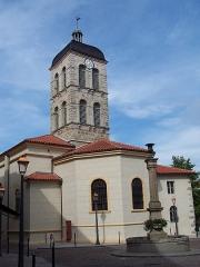 Eglise Saint-Marcellin - Français:   Église Église Saint-Marcellin de Monistrol-sur-Loire, inscrite au titre des monuments historiques en 1932.
