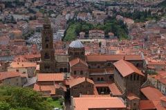Cathédrale Notre-Dame et ses dépendances - Français:   Cathédrale Notre-Dame-de-l\'Annonciation du Puy-en-Velay