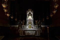 Cathédrale Notre-Dame et ses dépendances - Français:   Vierge noire de la cathédrale du Puy-en-Velay