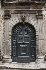 Hôtel de Marcellange ou de la Rochenegly (maison Armand) - English:   Doorway to the Mansion of_La Roche Négly
