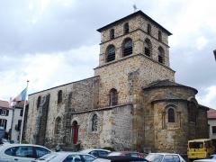 Eglise Saint-Jean-Baptiste - English:   Retournac, l\'église
