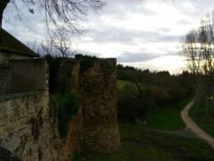 Fortifications d'agglomération d'Ainay-le-Château -  Slottsruinen, Ainay-le-Château
