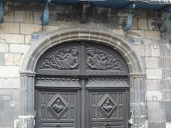 Ancien hôtel de la Feronnays - English: Hôtel de la Feronnays gate Moulins