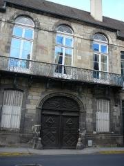 Ancien hôtel de la Feronnays - English: Hôtel de la Feronnays Moulins