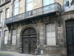 Ancien hôtel de la Feronnays - English: Hôtel de la Feronnays from the right Moulins