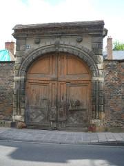 Ancien hôtel Héron - English: Hôtel Héron Gate Moulins