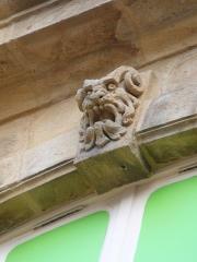 Hôtel de Mora, actuellement musée de l'illustration jeunesse - English: Hôtel de Mora détails3 Moulins