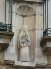 Maison - English: Details14,16 rue François Perron Moulins