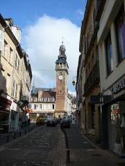 Tour de l'Horloge dite Jacquemart - English: Tour Jacquemart Moulins