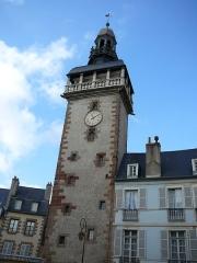 Tour de l'Horloge dite Jacquemart - English: Tour Jacquemart viewed from the Hotel de ville Moulins