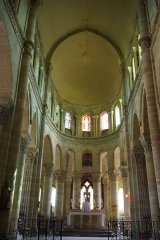 Eglise Saint-Menoux - This image was uploaded as part of Wiki Loves Monuments 2011.