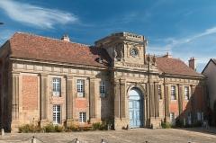 Prieuré bénédictin de Souvigny -  The imposing monastery building, built in the end of the 17th century and along the 18th century.