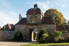 """Prieuré bénédictin de Souvigny -  The """"Porterie"""",  gatehouse where the door lay  and the stewards who managed and controlled by the priory's secular activities"""