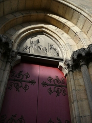 Eglise du Sacré-Coeur - English: left_door