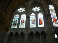 Eglise du Sacré-Coeur - English: stain_glass