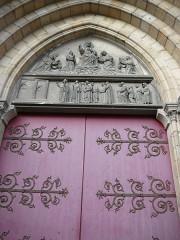 Eglise du Sacré-Coeur - English: details_main_gate