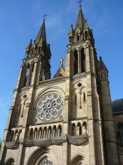 Eglise du Sacré-Coeur - English: Front_view