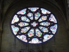 Eglise du Sacré-Coeur - English: stained_glass