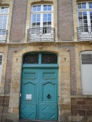 Hôtel particulier - English: Hôtel particulier Main gate 7 rue Diderot Moulins