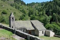 Eglise Saint-Illide - Français:   Eglise Sainte Illide a Alleuze , Cantal, France