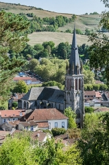 Abbatiale Saint-Géraud - English: View of the Saint Gerald abbey church of Aurillac, Cantal, France