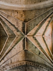 Abbatiale Saint-Géraud - English: Vaulting in the Saint Gerald abbey church of Aurillac, Cantal, France