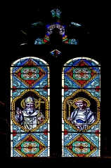 Abbatiale Saint-Géraud - English: Stained-glass windows of the Saint Gerald abbey church of Aurillac, Cantal, France