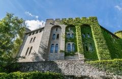 Ancien château fort Saint-Etienne - English:   Saint Stephen Castle in Aurillac, Cantal, France