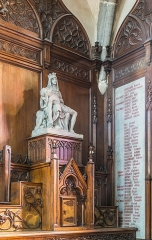 Eglise Notre-Dame-aux-Neiges - English: Interior in the Our Lady of the Snow church of Aurillac, Cantal, France