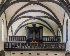 Eglise Notre-Dame-aux-Neiges - English: Organs in the Our Lady of the Snow church of Aurillac, Cantal, France