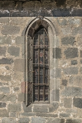 Eglise Notre-Dame-aux-Neiges - English: Window of the Our Lady of the Snow church of Aurillac, Cantal, France