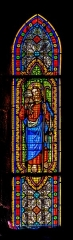Eglise Notre-Dame-aux-Neiges - English: Stained-glass window in the Our Lady of the Snow church of Aurillac, Cantal, France