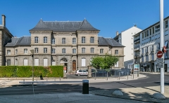Gendarmerie - English:   Building of the gendarmerie in Aurillac, Cantal, France