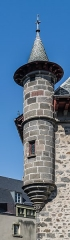 Maison consulaire - English: Turret of the Consular House of Aurillac, Cantal, France