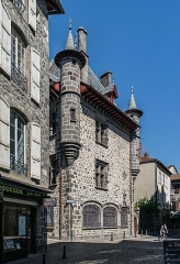 Maison consulaire - English: Consular House of Aurillac, Cantal, France