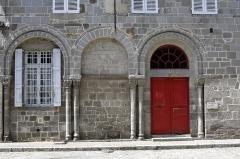Maison - Français:   Ancien hôpital abbatial Saint-Géraud d\'Aurillac.