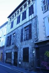 Maison Capelle - Français:   Maison Capelle, 20 rue Vermenouze à Aurillac.