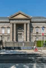 Palais de Justice - English: Courthouse in Aurillac, Cantal, France
